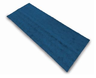 Dark Blue Fitted Sheets 75cm x 200cm - Carton (100)