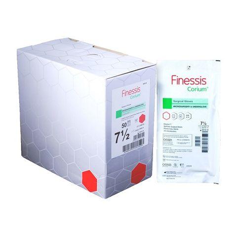 Finessis Corium Surgical Glove Size 7.5 - Box (50)