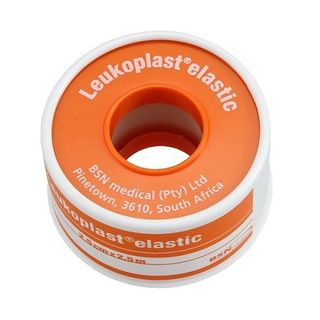 Leukoplast Elastic 2.5cm x 2.5m TAN - Box (12)