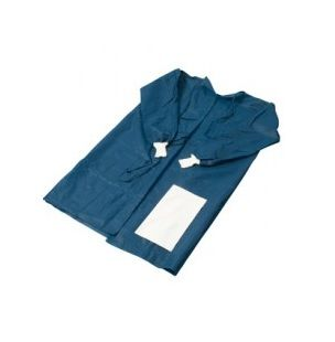 Minor Procedure Gown Long Sleeves with Towel & Sterile Field - Carton (40)