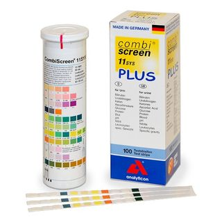 CombiScreen PLUS 11SYS Urinalysis Strips Can (150)