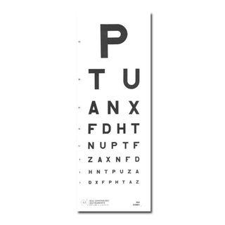 Eye Chart - 6m Direct