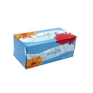 Durasoft Facial Tissues 180 tissues/box - Carton (36)