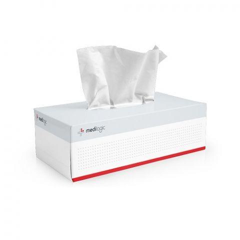 Facial Tissues Medilogic Box 200 - Carton (32)