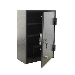 3 Shelf Drug Safe - Right Hand Hinge - Powdercoated Steel