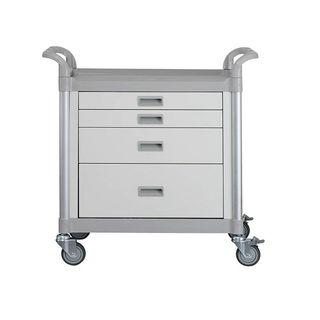 Viva Medication Cart - 4 Drawers W900mm x D490mm x H930mm (GC1340)