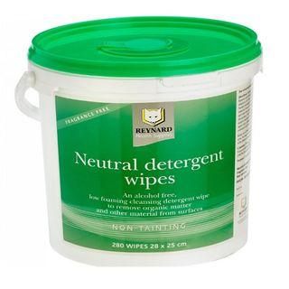 Neutral Detergent Wipes - Tub (280)