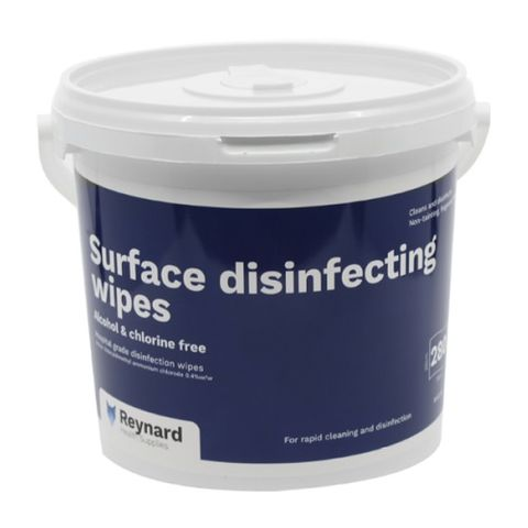 Surface Disinfectant Wipes - Tub (280)