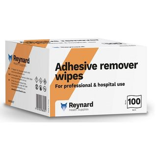 Adhesive Remover Wipes (6cmx6cm) - Box (100)