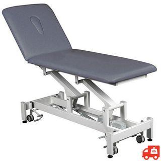 Vista 2 Section Electric Hi-Lo Treatment Table - Grey