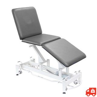Altona 3 Section Electric Hi-Lo Treatment Table - Grey