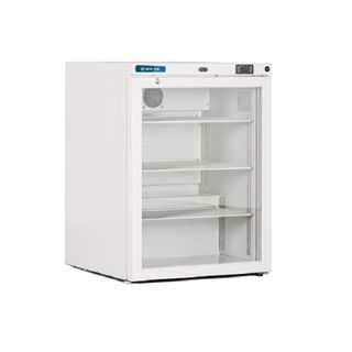 Mediline ML Series Vaccine Refrigerator - 125L W600mm x D600mm x H830mm GLASS DOOR