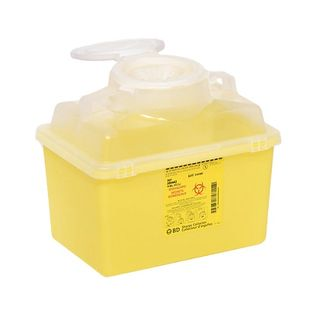 BD Sharps Container Nestable 22.7L
