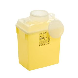 BD Nestable Sharps Container - 13.2L