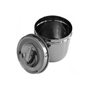 Dressing Jar w/lid 100x100mm ARMO