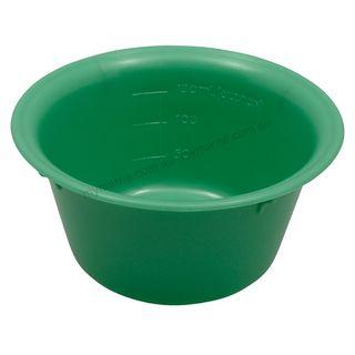 Autoclavable Plastic Bowl 100mm, 150ml Green - Each