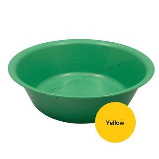 Autoclavable Plastic Bowl 305mm, 3500ml Yellow - each