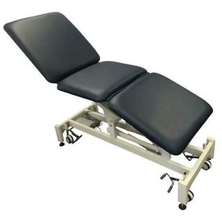 Med Bed 3 Section Treatment Table Navy (No Facehole)