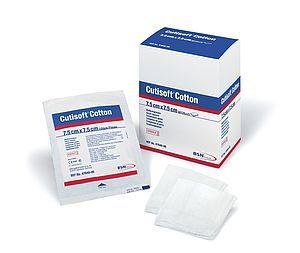 Cutisoft Gauze Swab 8Ply, 7.5x7.5cm (CGS75NS) Non-Sterile Pk 100 - Set of 5 Pks