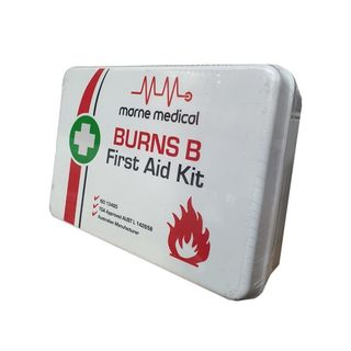 Regulator Burns First Aid Kit B Plastic 24x24x8cm - Each
