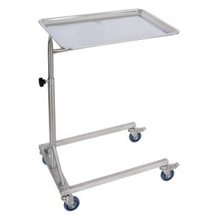 Mayo Table Stainless Steel 4 Castor Base