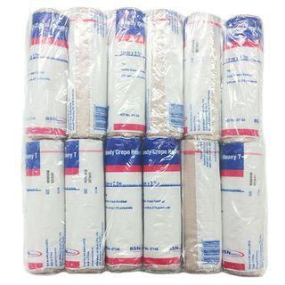 Handycrepe Heavy Bandage Tan 5cm x 2.3m (73050-10) - Pack (12)