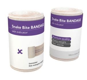 Aeroform Snake Bite Bandage with Indicator - Pack (12)