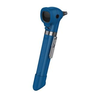 Welch Allyn Pocket Plus LED Otoscope with Handle - Blueberry/Blue