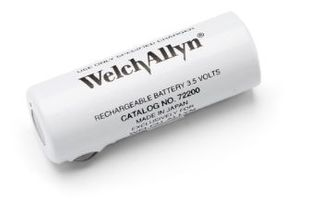 Welch Allyn 3.5V NiCad Battery - Black for 71670 NiCad Handles and 71020-A Handle