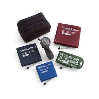 Welch Allyn DuraShock Model DS66 Aneroid Sphyg with Multi-Cuff Kit