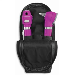 Welch Allyn Pocket LED Diagnostic Set with Soft Case - Purple