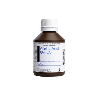 Acetic Acid 5% 100ml - Each