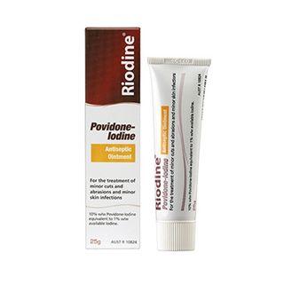 Riodine Povidone Iodine Antiseptic Ointment 25g tube - each