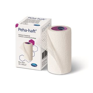 Peha-haft Retention Bandage Latex Free 12cm x 4m - Each