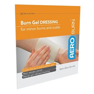 Aeroburn Burn Gel Dressing 10cm x 10cm - Each