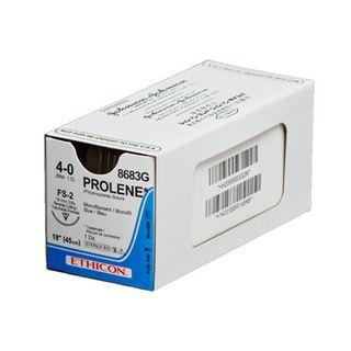 Prolene 5/0 Suture Blue 45cm 16mm PS-3 R/C - Box (12)