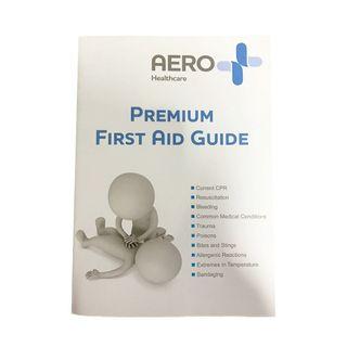 Aeroguide First Aid Booklet 10.5cm x 15cm - Each