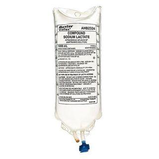 Hartmanns Solution Sodium Chloride IV 1000mL - Each
