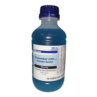 Chlorhexidine 0.05% 500ml - Each