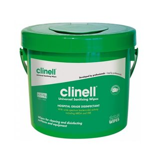 Clinell Universal Disinfectant Wipes - Bucket (225)