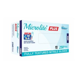 Microlite Plus Nitrile Glove Large - Box (250)