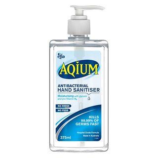 Aqium Hand Sanitiser 375mL - Each