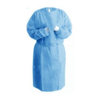 Isolation Gown PP+PE 32gsm Pack (10)