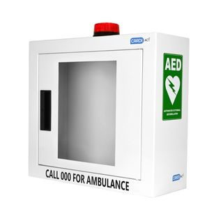 Heartsine AED Wall Cabinet with Alarm and Flashing Light