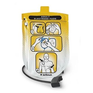 Defibtech Adult Defibrillation Pads (Lifeline SEMI/AUTO only)