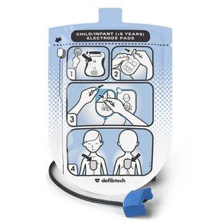 Defibtech Paediatric Defibrillation Pads (Lifeline SEMI/AUTO only)