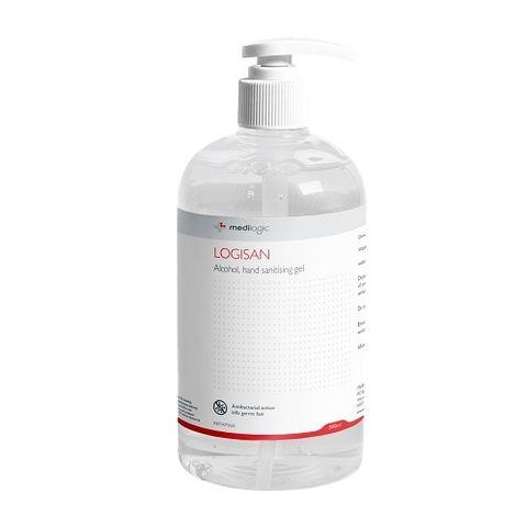 Logisan Alcohol Hand Sanitiser Gel 500ml - EACH