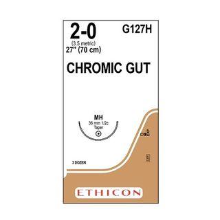 Chromic Gut Suture 2/0 MH 70cm - Box (36)