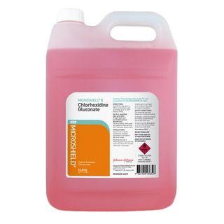 Microshield 5 Chlorhexidine Concentrate - 5L