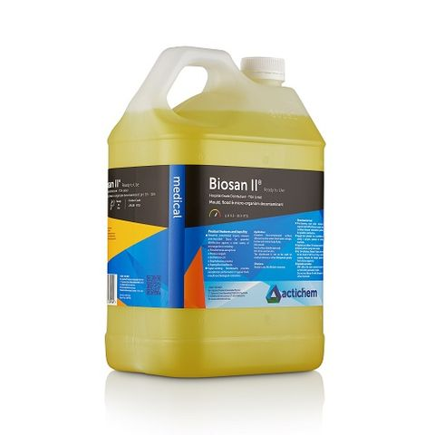 Biosan II Hospital Grade Disinfectant Ready To Use - 5L
